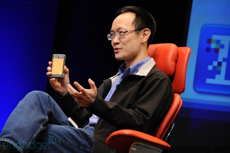 Xiaomi's President and co-founder Mr. Lin Bin