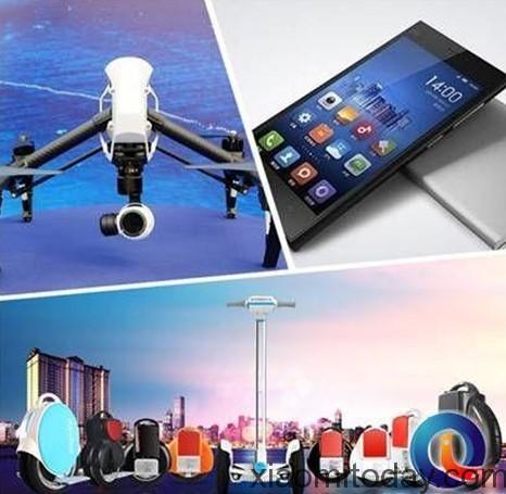 Dajiang Airwheel and Xiaomi