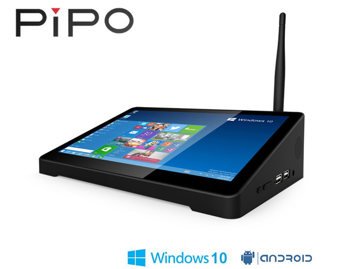 PIPO X9 TV Box is dual OS compatible and sports a very unorthodox design