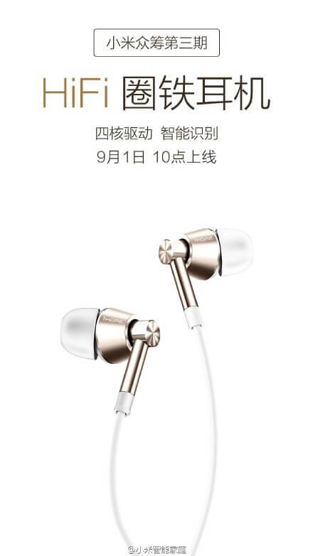 Xiaomi Hi-Fi headphones
