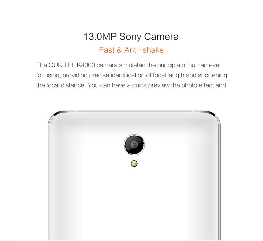 Camera of outkitel K4000