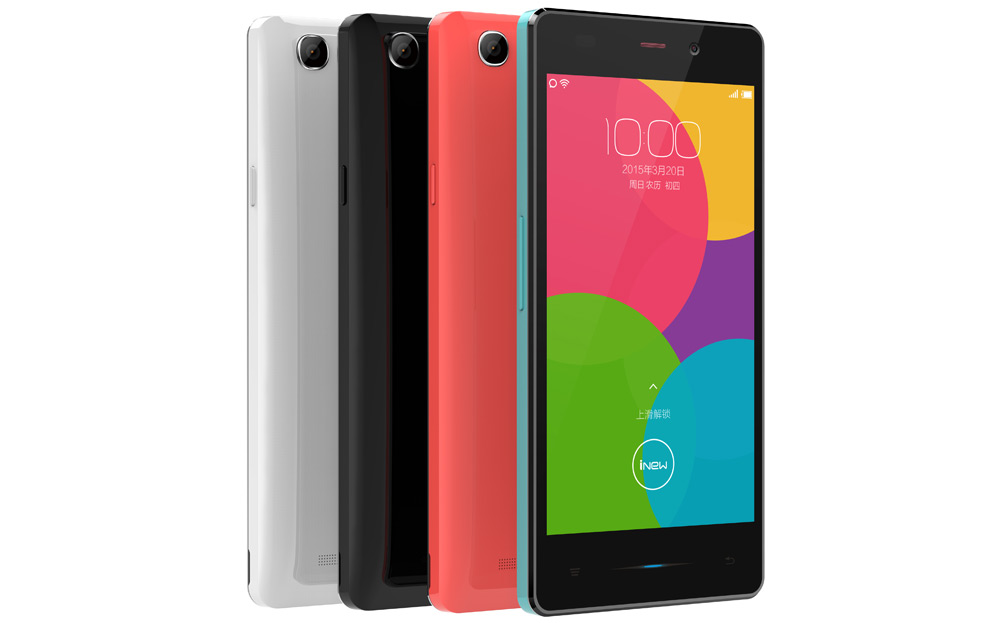 Different colors in which you can get the INEW U3 smartphone