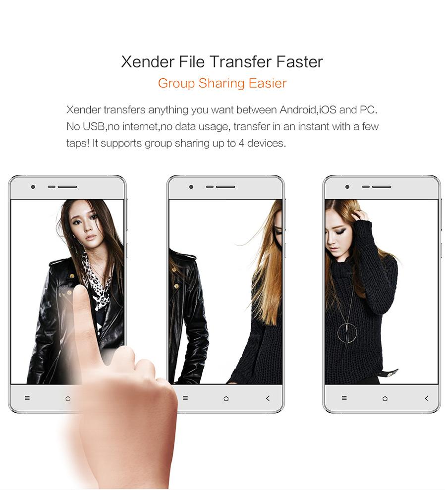 Xender file transfer