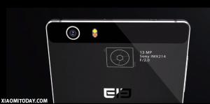 The camera - M2 4G Phablet