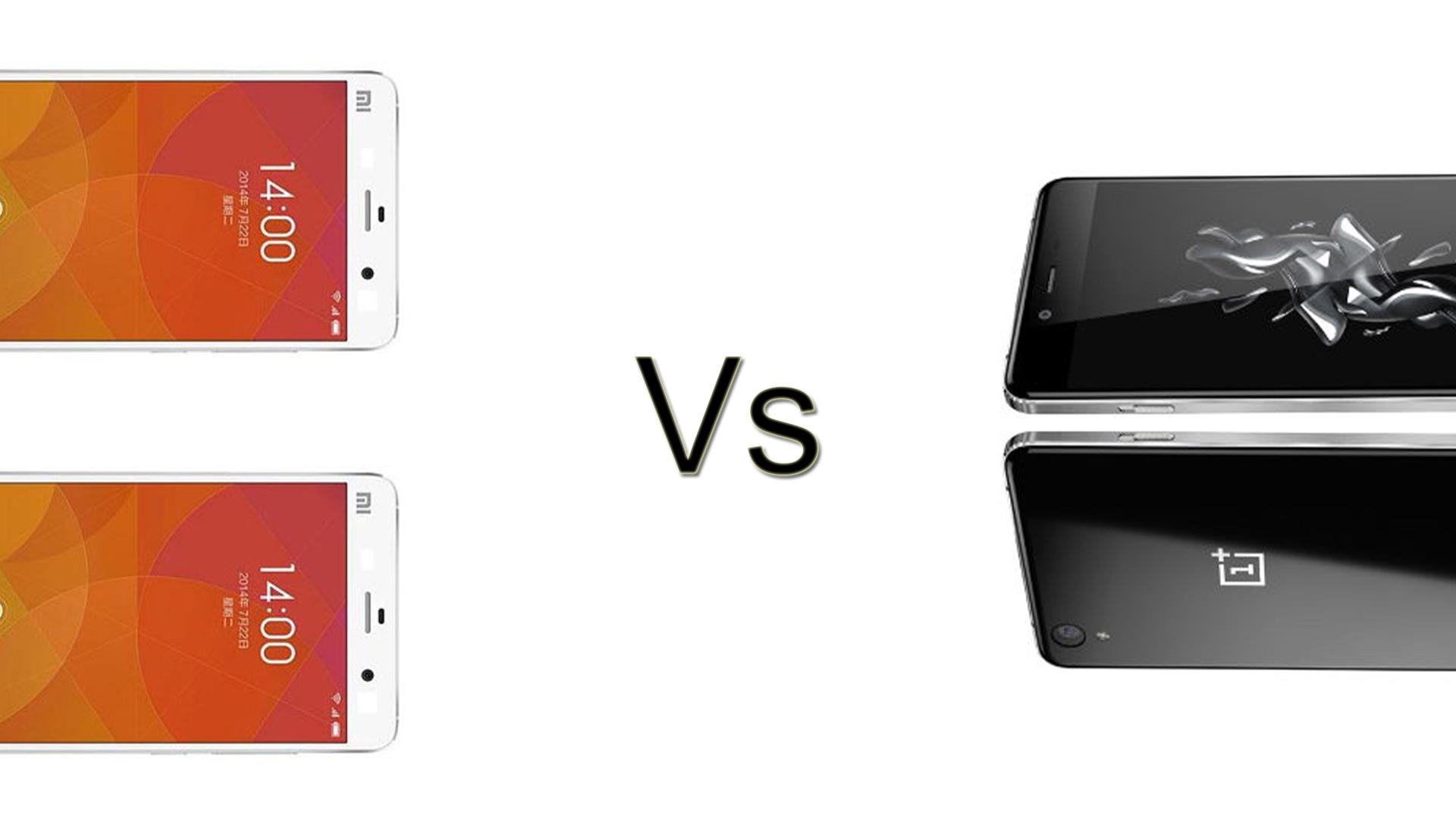 Xiaomi Redmi Note 2 vs OnePlus X