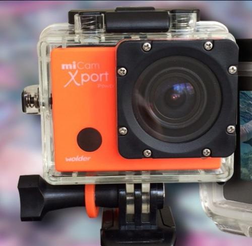 sport camera miCam Xport