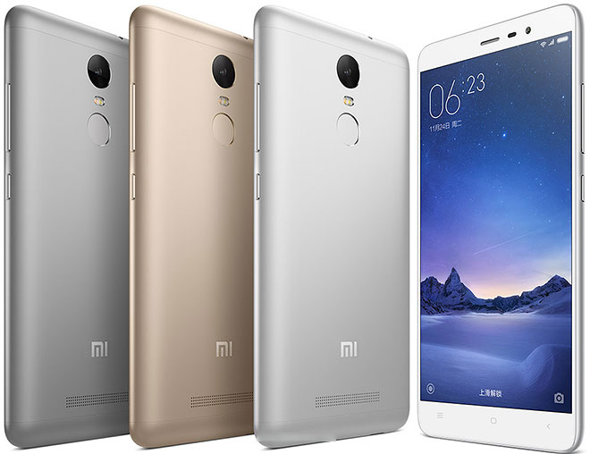 redmi note 3 from xiaomi
