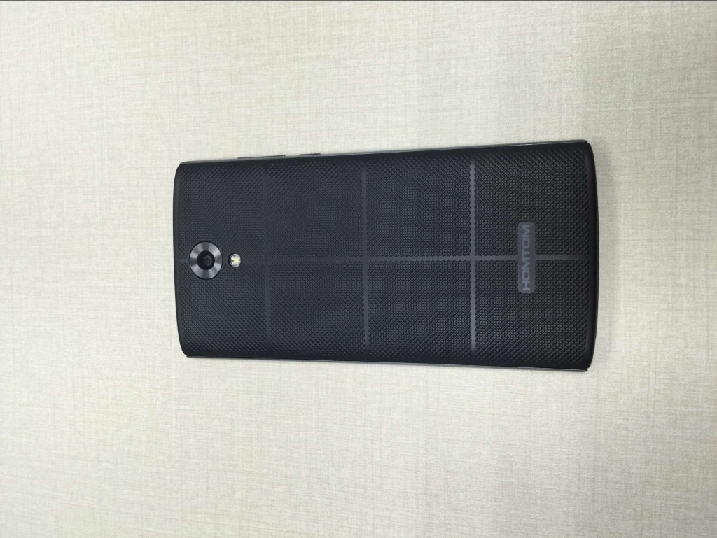 HOMTOM HT7 BLACK back