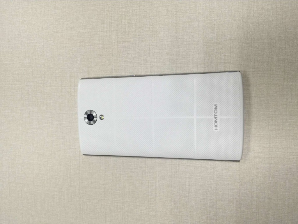 HOMTOM HT7 WHITE BACK