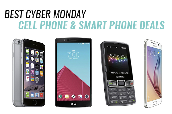 smartphone deals for Cyber Monday
