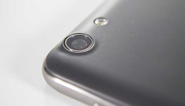 The camera lens of the Cubot Note S
