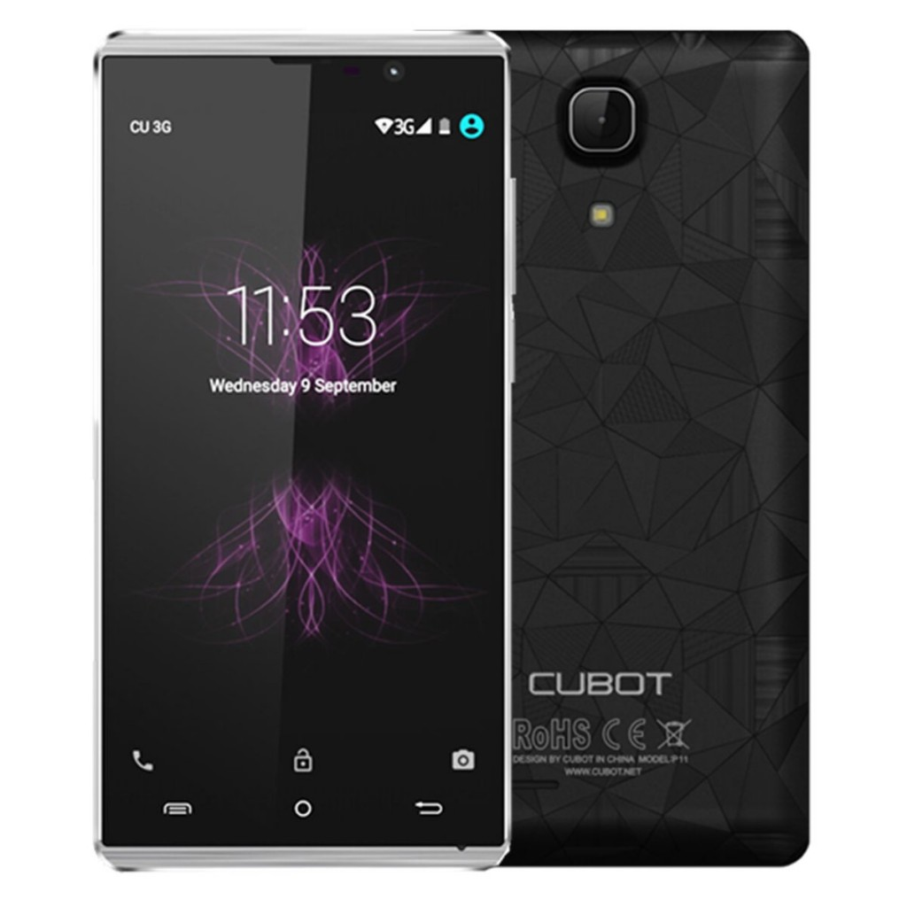 Gearbest sale promotion on Cubot Smartphones - Here's the P11, a entry level model.