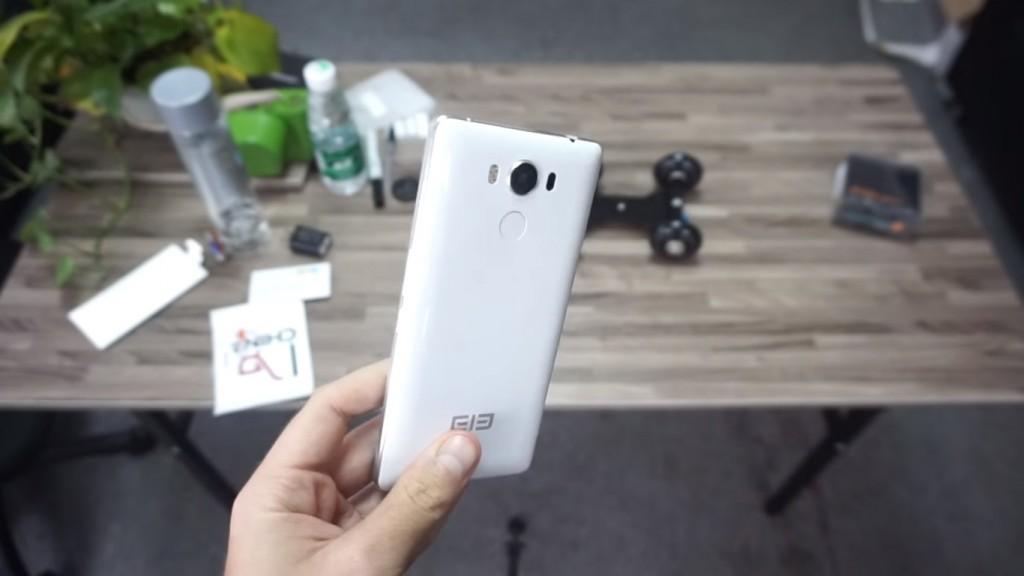 Elephone P9000 Back side