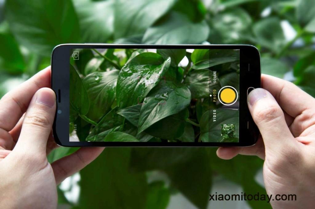 Y200 Camera interface, taking photos with Doogee Y200