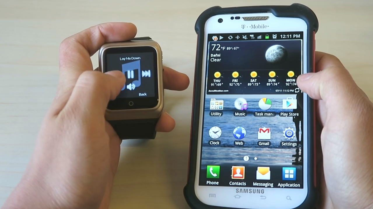 Conecting Rwatch R10 smartwatch with smartphone