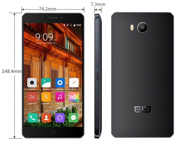Design of the Elephone P9000 Lite