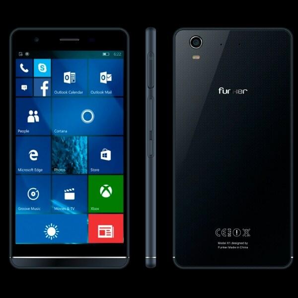 Funker W5.5 Pro Windows 10 Mobile Phablet