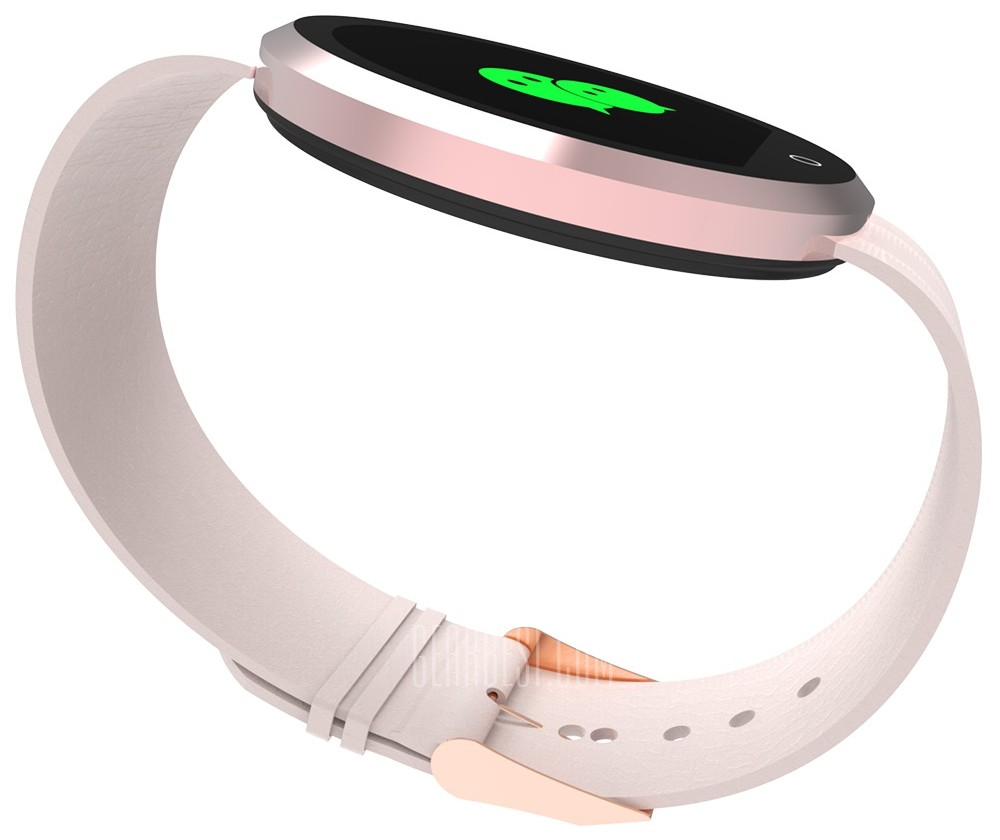 BD360 smartwatch side view on a white background