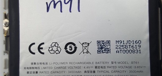 Charm Blue Note 3 battery