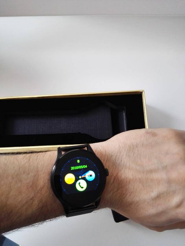 K88H Smartwatch Review - A Steel Elegance - XiaomiToday