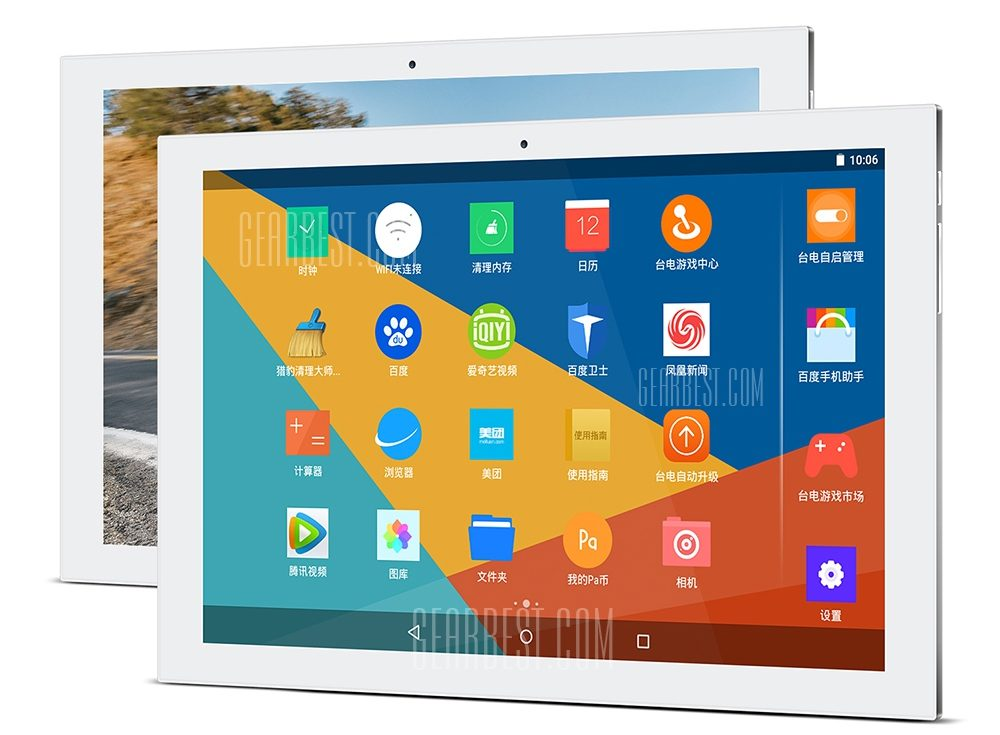 Teclac X10 Plus Tablet on the white background