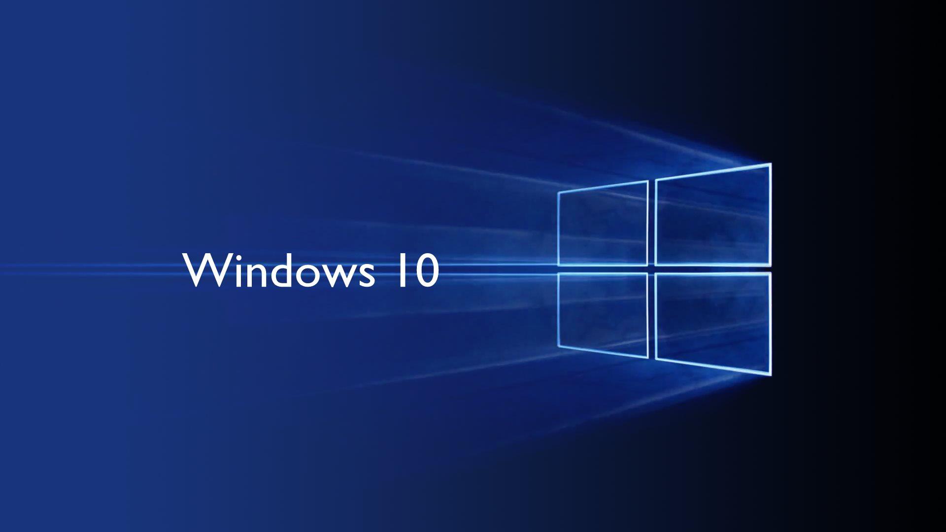 Aosder W823; Windows 10 blue wallpaper