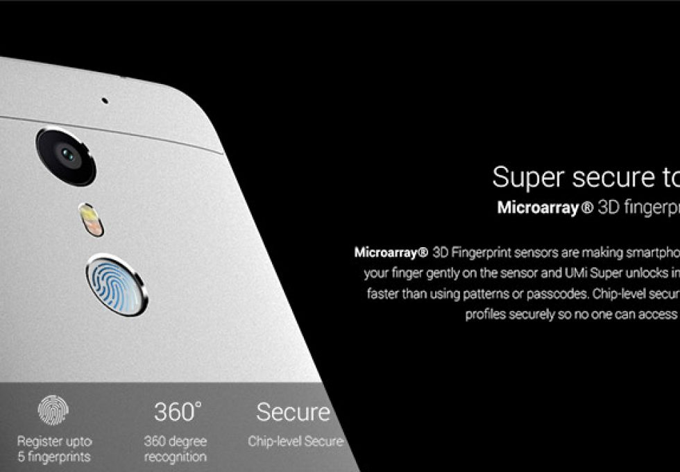 UMi Super Fingerprint reader