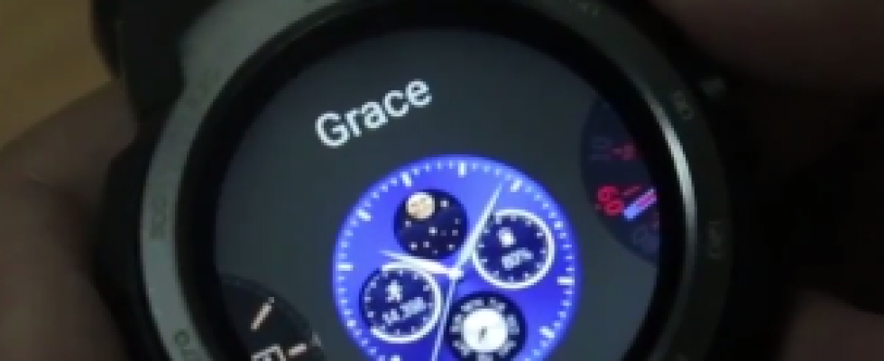 You heard it right! The watch features 20 clock faces from analogue to ...