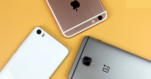 OnePlus 3, Mi 5 and iPhone 6s Cameras - image