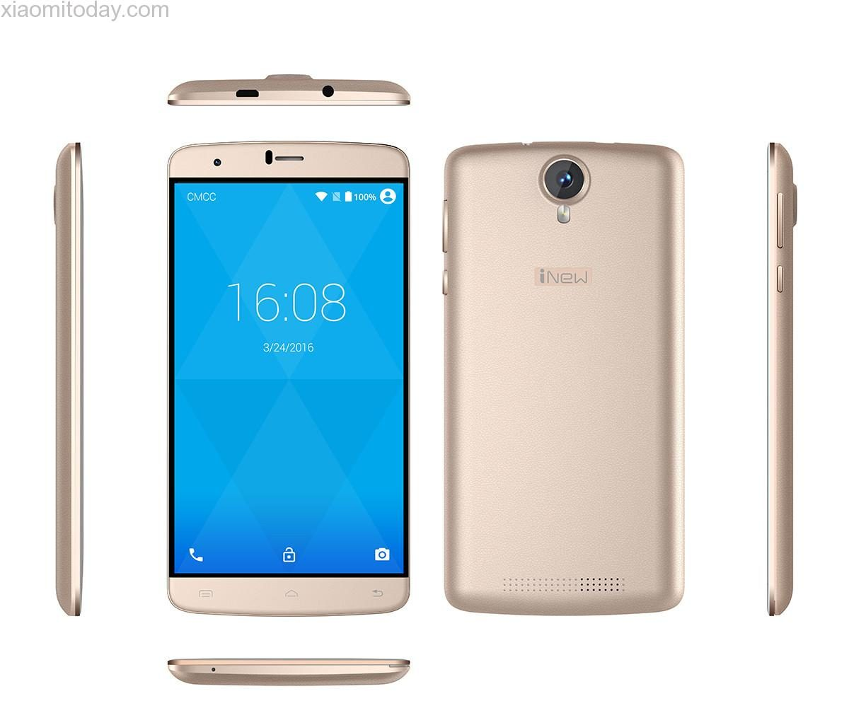 iNew U9 Plus pictured from all angles. White background.