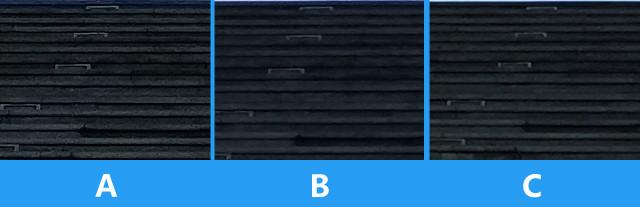 100% enlarge screenshot - All Three - image