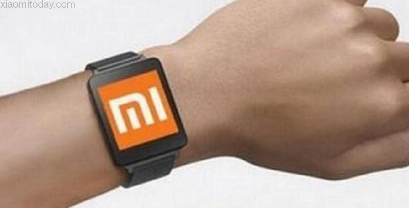huami watch on wrist