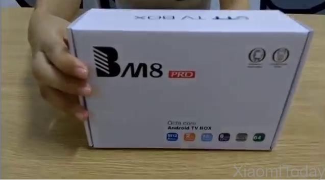 BM8 Pro TV Box Packaging