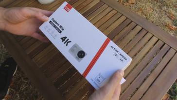 Elephone Elecam Explorer Elite 4K Action Camera Packaging