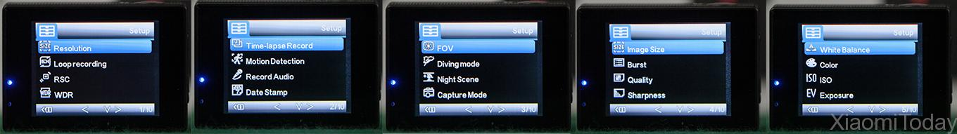 The camera also has a TV output port which makes displaying on the TV ...