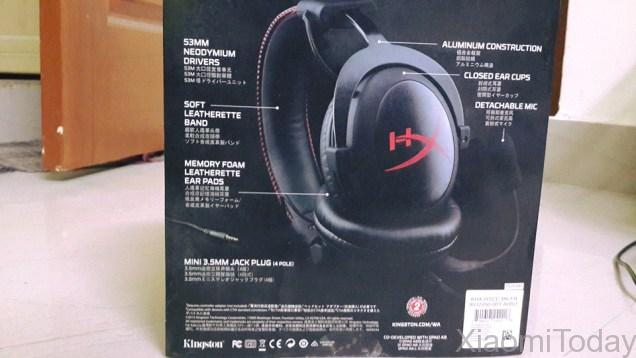 Kingston HYPERX Cloud Core KHX Gaming Headset Packaging