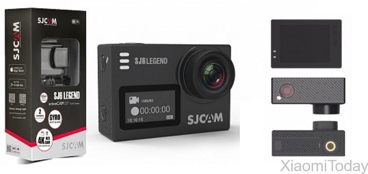 SjCam SJ6 Legend Camera Package Contents