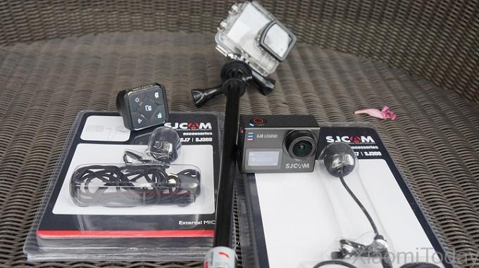 SjCam SJ6 Legend Camera Packaging