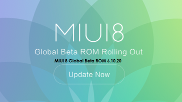 MIUI 8 Global Beta ROM 6.10.20 Changelog Preview