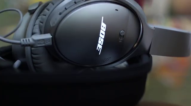 Bose QuietComfort 35 Headphones Charging & Battery