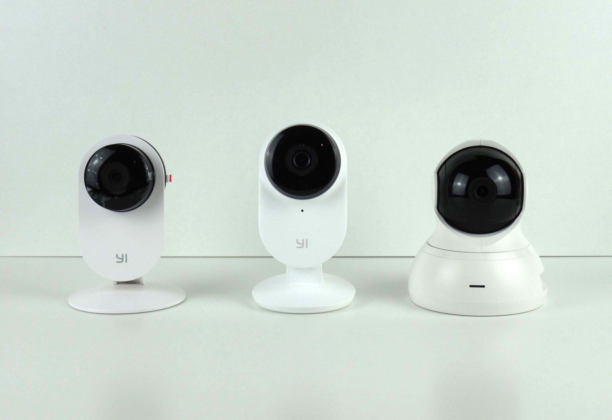 Xiaomi Yi Dome Camera Comparison