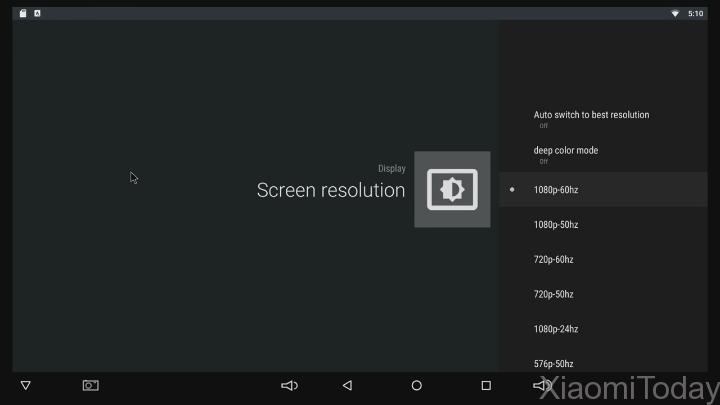 Sunvell T95U Pro TV Box Display Resolution