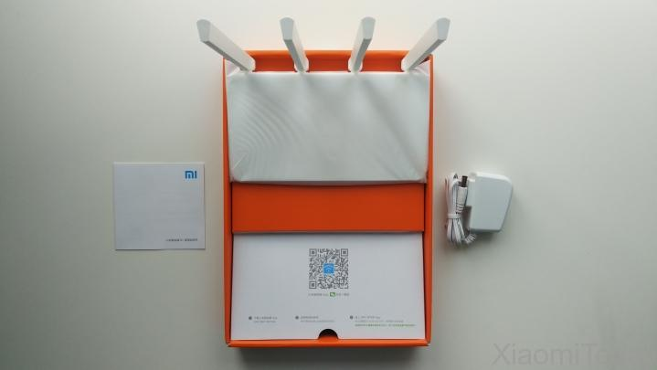Xiaomi Mi Wi-Fi Router 3C Package Contents