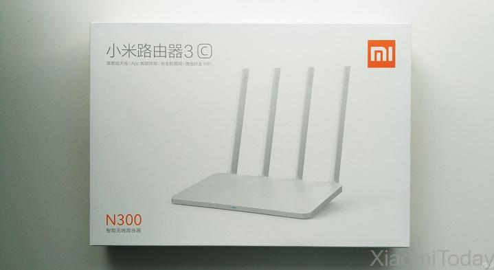 Xiaomi Mi Wi-Fi Router 3C Packaging