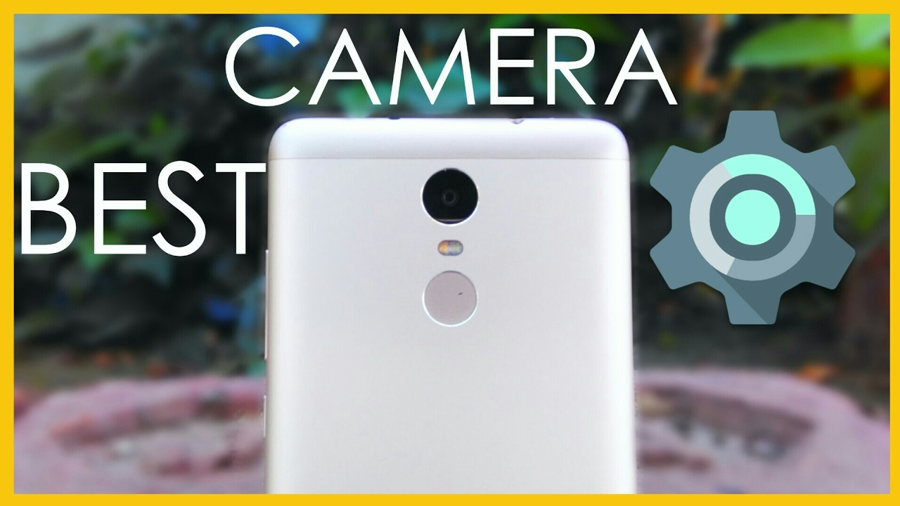 Best Camera settings for Redmi Note 3