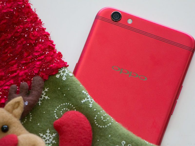 Oppo R9S red 5