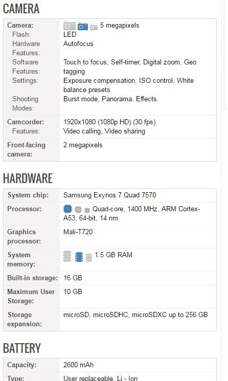 xiaomi samsung phone comparison
