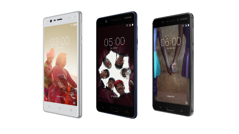 Nokia smartphones launched