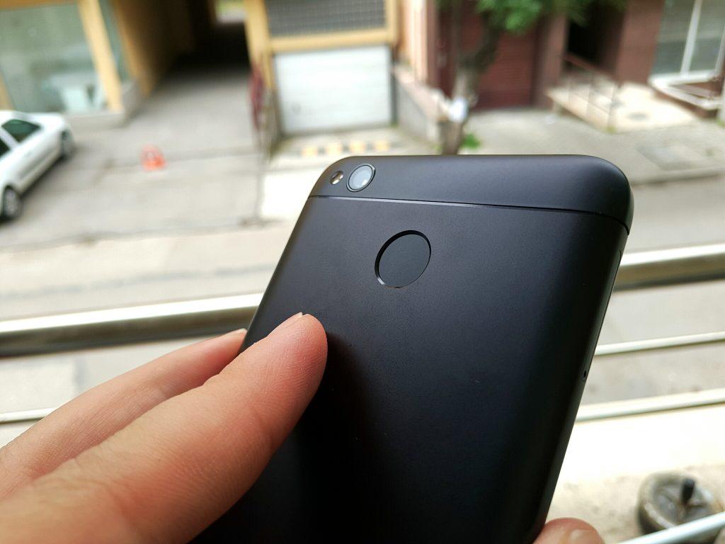 redmi 4x review fingerprint scanner