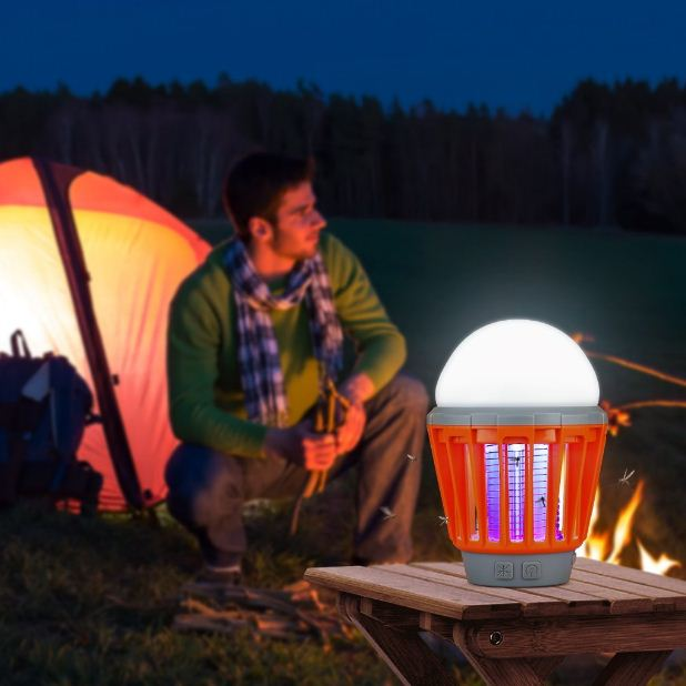 Enkeeo Waterproof Mosquito Camping Zapper Lantern